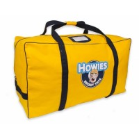 Yellow hockey bag
