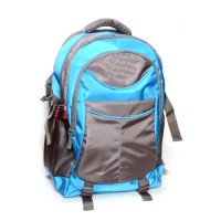 Blue & grey school bag