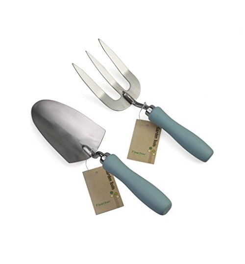 Finether 2 pieces gardening tools set